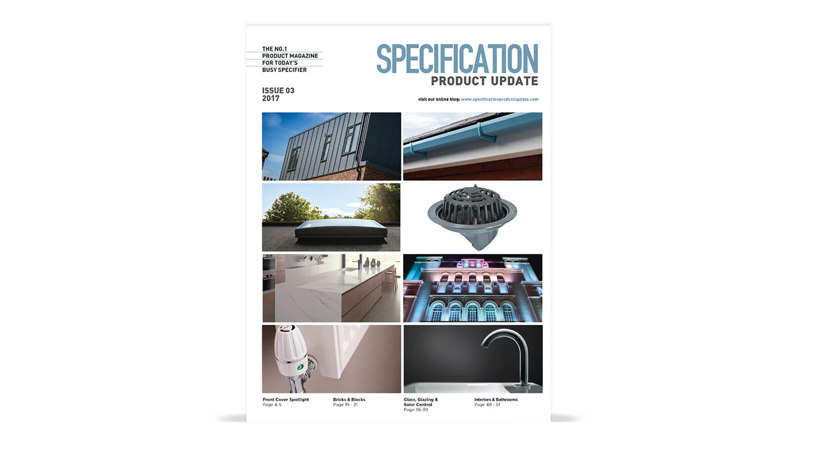 specification product update magazine tsp media