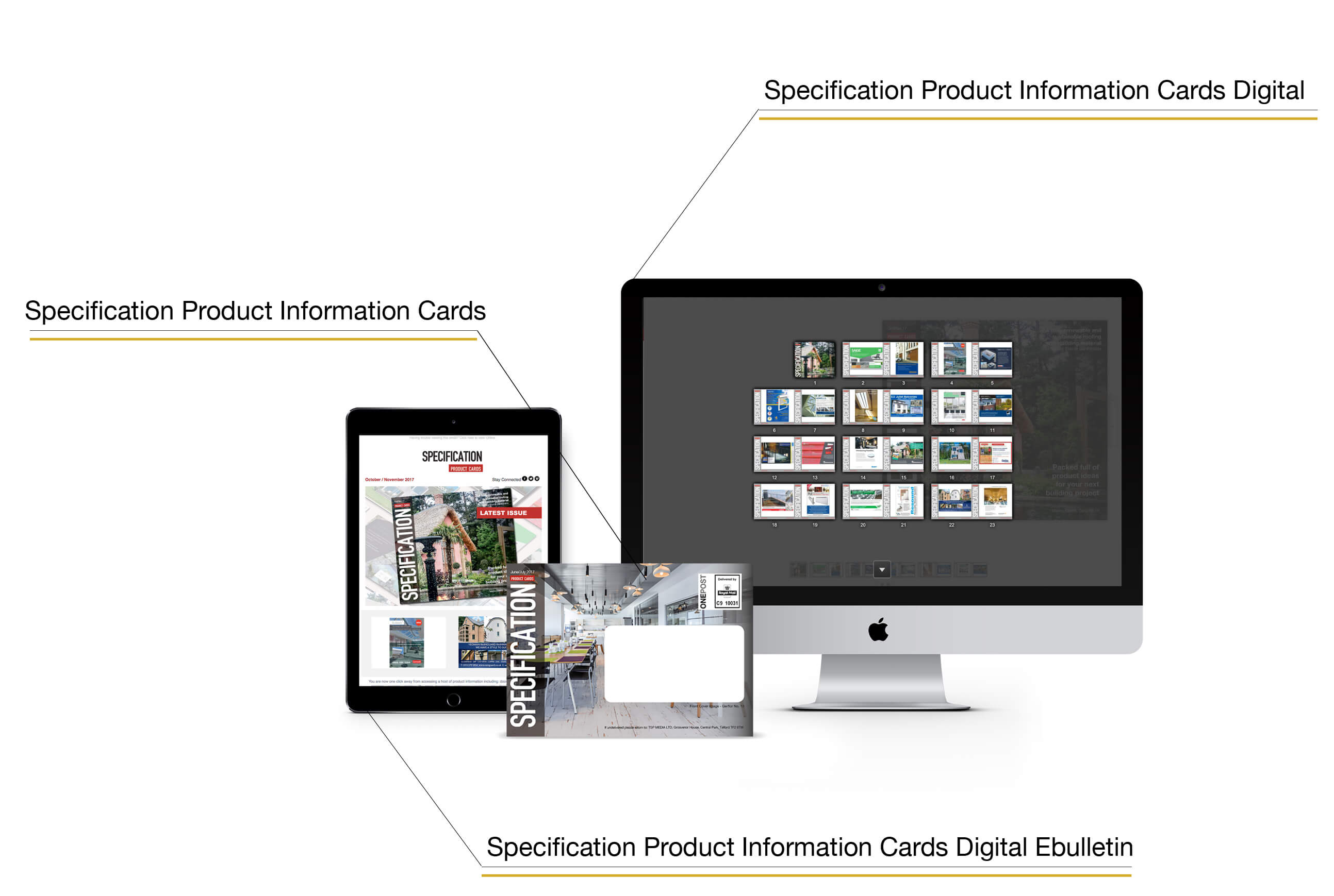 Specification Product Information Cards
